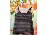 2 H&M Nursing Tops Size S - very good condition