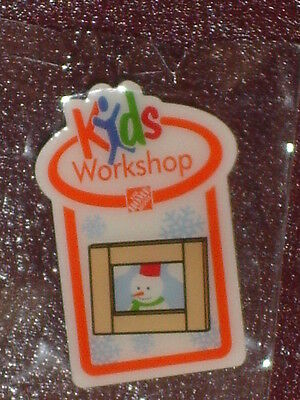 NEW THE HOME DEPOT KIDS WORKSHOP PICTURE FRAME PIN COLLECTIBLE RARE COLLECTORS