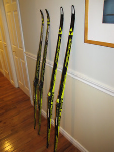 Fisher XC ski's and boots