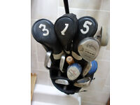 Complete golf kit on trolley - reduced to £25 for quick sale.