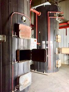 2- Decker coal or wood Boilers 3.5 million BTU **REDUCED**