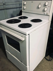 Apartment sized electric stove / range