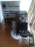 HAMILTON BEACH PROGRAMMABLE Coffeemaker 12 cup Capacity Stainles