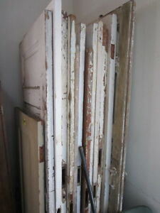OLD PANELLED DOORS