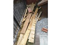 Timber for wood burners, Fire pits