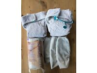 Reusable cloth nappies bundle