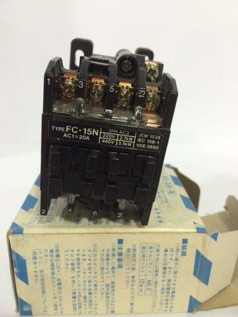 Matsushita Contactor FC-15N, 220-440V