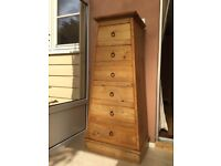 Pyramid Chest of Drawers - wood