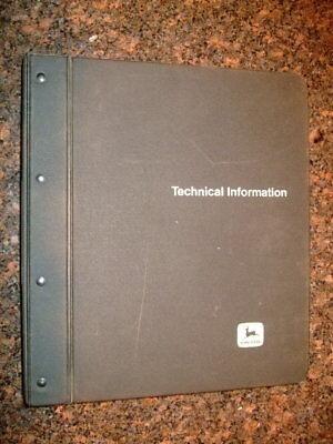 John Deere 570b Motor Grader Technical Repair Service Shop Manual Tm-1399 Feb 87