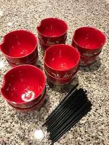 Soup/Rice Bowls/Chop Sticks