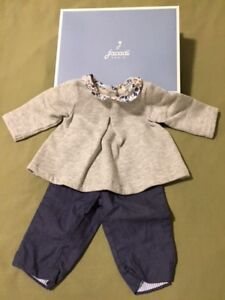 2 sets (4 pieces) of Jacadi Pairs baby clothes (6 month)