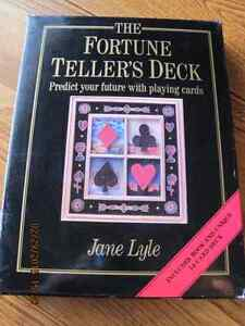 The FORTUNE TELLER'S DECK Predict Your Future Book & Deck