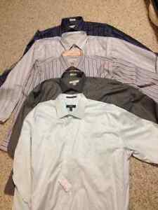 Brand New 5 men shirts size 3XL from Moores