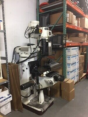 Chevalier Cnc 3 Axis Milling Machine 11x54 3hp Variable Speed Anilam 5000m