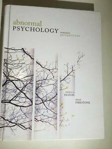 Abnormal Psychology- Perspectives, 4th Ed. London Ontario image 1