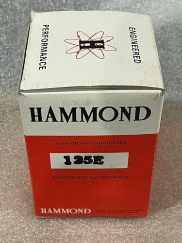 NOS HAMMOND 125E Audio transformer Universal Push-Pull Tube Output 15 watts