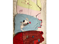 Baby sleeping bags - £5 one or £12 for all 3