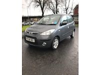 Hyundai i10 1.2 Hatchback 5dr Petrol Manual (2009) lady doctor owner 68k miles ROAD TAX £30 YEAR