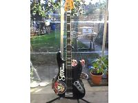 Columbus Jazz Bass Made in Japan..Gigged.Trade for squier tele