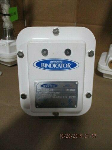BINDICATOR MATERIAL LEVEL SENSOR VRF II SERIES # 1021900B NEW