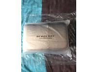 BURBERRY Vanity Case Makeup / Travel Bag BRAND NEW SEALED!