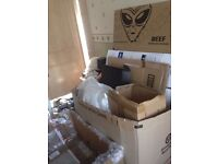 Cardboard lots of it free all free some boxed some flat