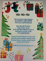 BLUE GYPSY'S 5TH ANNUAL OPEN HOUSE CHRISTMAS CRAFT & GIFT SALE