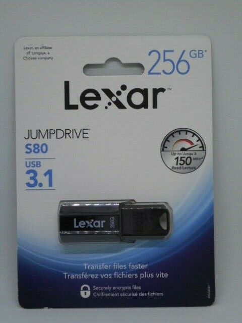 new jumpdrive s80 256gb usb 3 1