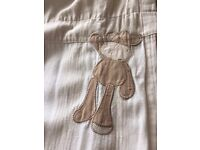 Mamas and Papas 'Once upon a time' curtains and light shade