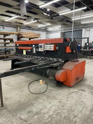 10 X 14 Amada M-3060 Mechanical Shear. Stock 0416921