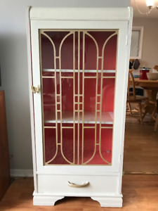 Painted Curio Cabinet - Reduced AGAIN !!!