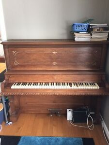 Upright Piano from 1800's