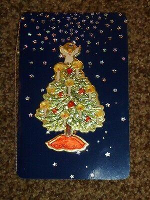 Hall Family Tree - Vintage Hallmark Hall Family Christmas Ornament Keepsake Card Adele 1996 Tree