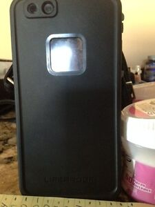 "Genuine Black LifeProof ""Fre"" case for iPhone 6 Plus"
