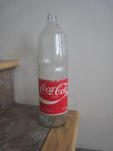 1970s Canadian Glass 1.5 Litre Coke Bottle