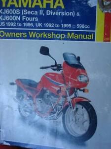 kawasaki ninja 600rx zx600b 1987 workshop service manual