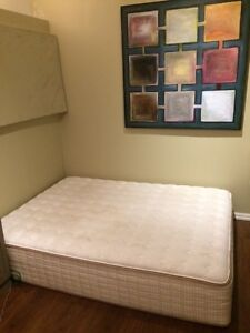 Queen mattress 1.5yrs old/spring box *BEST OFFER-clean home