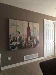 New York painting 60'' by 47''