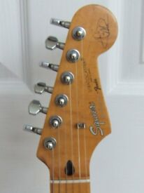 Fender Hank Marvin Strat Custom Build