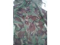 1980s Brotish Army DPM Camo Jacket (used in N Ireland)