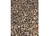 10mm Pea Gravel Half Dumpy Sacks