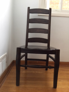 Pottery Barn WYN Side Chairs ALFBROWN