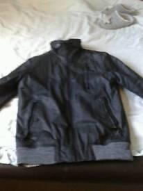 Superdry mens black bomber jacket