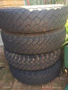Toyota Land Cruiser tyres and rims Kingsley Joondalup Area Preview