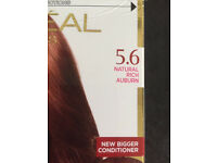 hair colour 5.6 natural auburn Loreal ...... not needed if anyone can make use