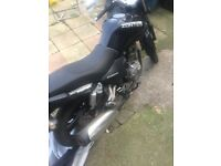 Zontes panther 125cc Good condition 2015 MOT untill july