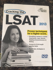 Cracking the LSAT 2013 / by Princeton Review / +  NEW DVD
