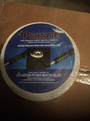 Aeroflex Protape Self-adhering Rubber Tape For Insulation Sheet Joints 2x 82