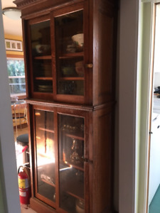SOLD Antique Oak Bookcase