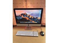 "Apple iMac 21.5"" Desktop - Intel Core i5 Processor - Upgraded 8GB RAM - MC309DA"